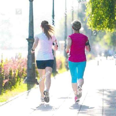 People Exercising Walk